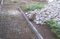 Wiederherstellung der Wege und Hofflächen